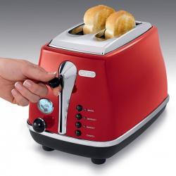 Купить тостер Delonghi CTO2003R